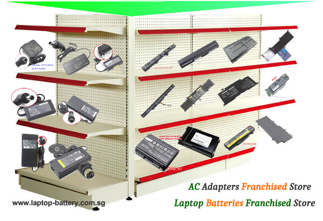 Laptop batteries and laptop ac adapter in Singapore