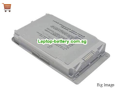 APPLE POWERBOOK G4 12inch Battery 4400mAh 10.8V Silver Li-ion
