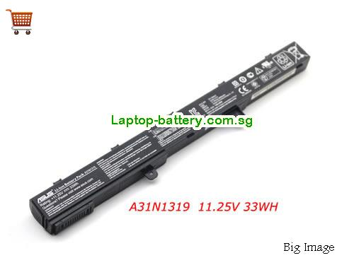 ASUS F551A Battery 33Wh 11.25V Black Li-ion