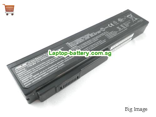 ASUS N53J Battery 4400mAh 10.8V Black Li-ion