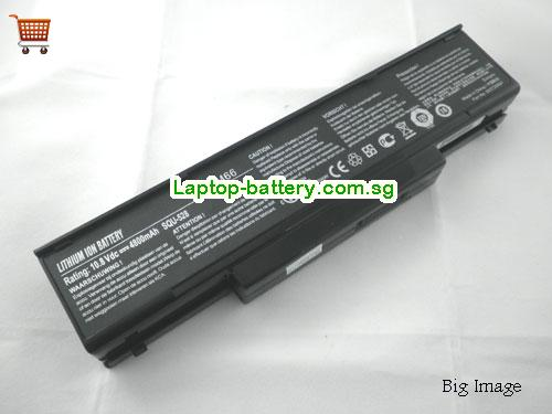 ACER MS-163N Battery 4400mAh 11.1V Black Li-ion