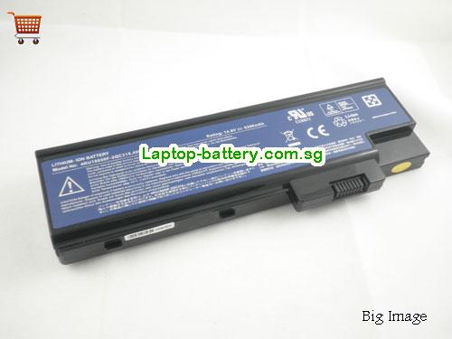 ACER 4UR18650F-2-QC218 Battery 4400mAh 14.8V Black Li-ion