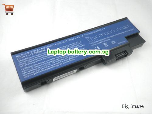 ACER 4UR18650F-2-QC218 Battery 5200mAh 11.1V Black Li-ion