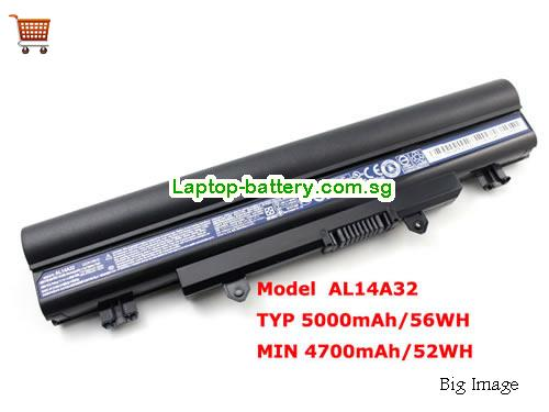 AU Genuine AL14A32 Battery for Acer Aspire E1-571 E1-571G Series Laptop