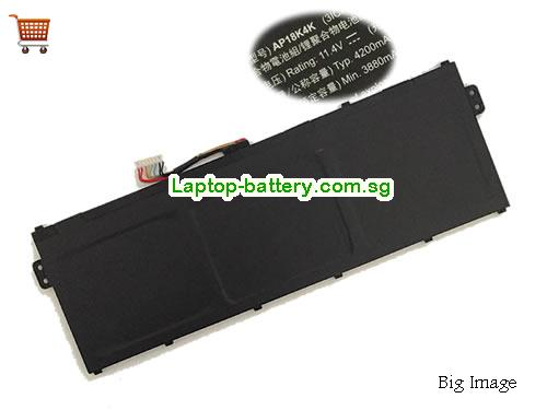 ACER Chromebook 311 C721 R721T Battery 4200mAh, 48Wh  11.4V Black Li-Polymer