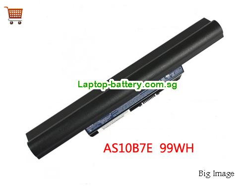 ACER 3820T-334G32n Battery 9000mAh 10.8V Black Li-ion