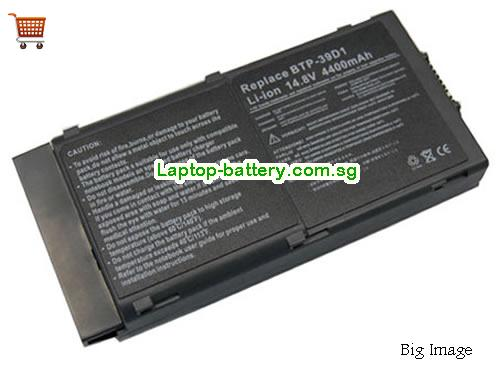 ACER 60.42S16.001 Battery 3920mAh 14.8V Black Li-ion