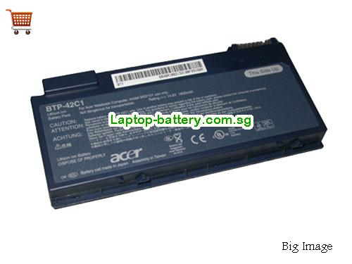 ACER 6M.48R04.001 Battery 1800mAh 14.8V Grey Li-ion