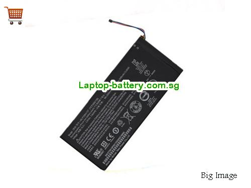 ACER Iconia One 7 Tablet Battery 3680mAh, 14Wh  3.8V Black Li-ion