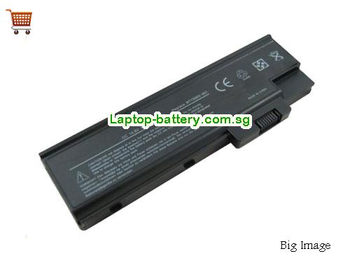 ACER 3002LCi Battery 4400mAh 11.1V Black Li-ion