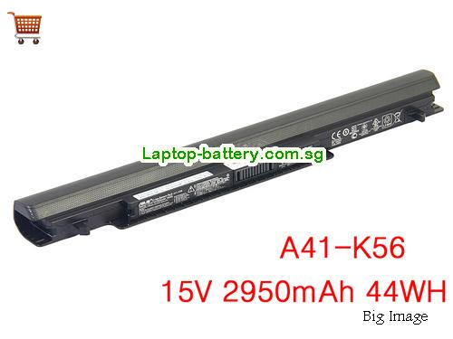 ASUS S550CM-CJ119H Battery 2950mAh, 44Wh  15V Black Li-ion