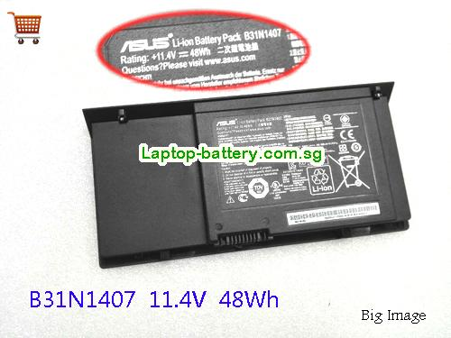 AU ASUS B31N1407 Battery For B451 B451JA B451JA-1A Laptop