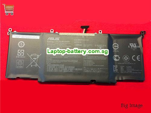 ASUS ROG Strix GL502VM Battery 4110mAh, 64Wh  15.2V Black Li-ion