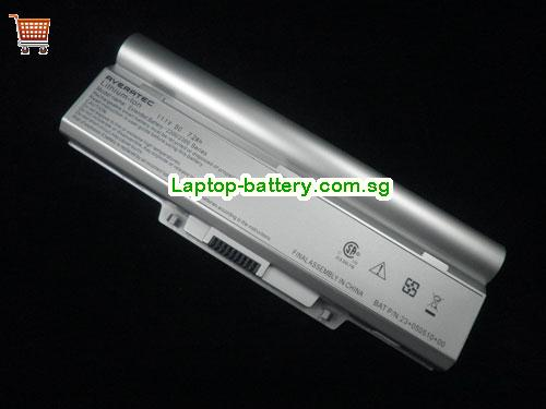 PHILIPS Freevents X59P Battery 7200mAh, 7.2Ah 11.1V Silver Li-ion