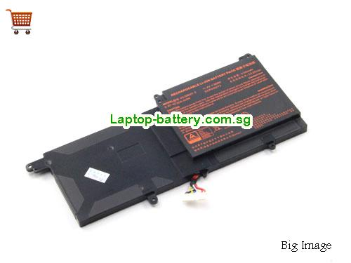 CLEVO N130BAT-3 Battery 3100mAh, 36Wh  11.4V Black Li-ion