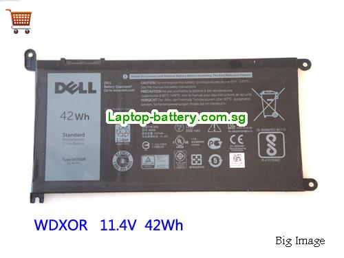 Dell INSPIRON P69G Battery 42Wh 11.4V Black Li-ion