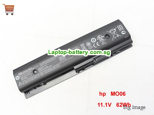 HP NVY Dv6 Battery 62Wh 11.1V Black Li-ion