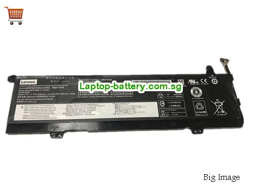 LENOVO Yoga 73015IKB81CU0043GE Battery 4520mAh, 52Wh  11.4V Black Li-ion