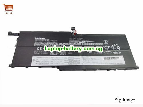 LENOVO ThinkPad X1 Yoga20FQ001PAU Battery 3425mAh, 52Wh  15.2V Black Li-ion