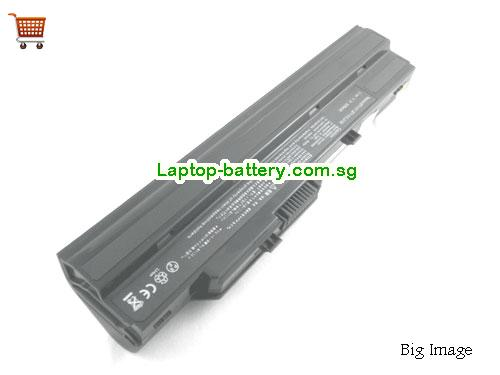AU Replacement Laptop Battery for  ROVERBOOK Neo U100, Roverbook Neo U100,  Black, 5200mAh 11.1V