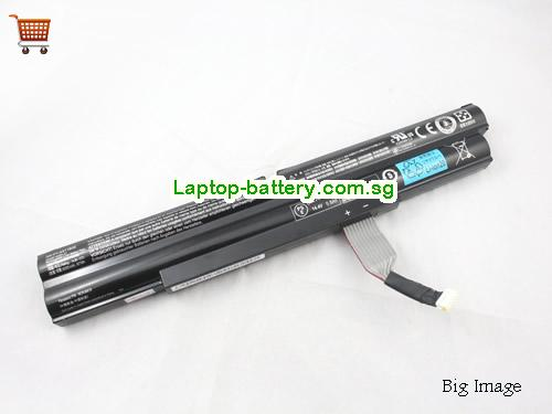 ACER 4INR18/65-2 Battery 6000mAh, 87Wh  14.8V Black Li-ion