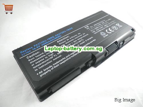 TOSHIBA PSPG8A-020004 Battery 4400mAh 10.8V Black Li-ion