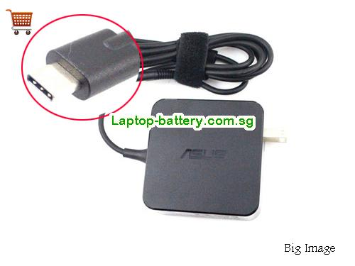 ADP-65SD B ASUS 20V 3.25A Laptop AC Adapter, 65W